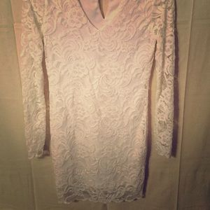 Forever 21 White Lace Dress/Small